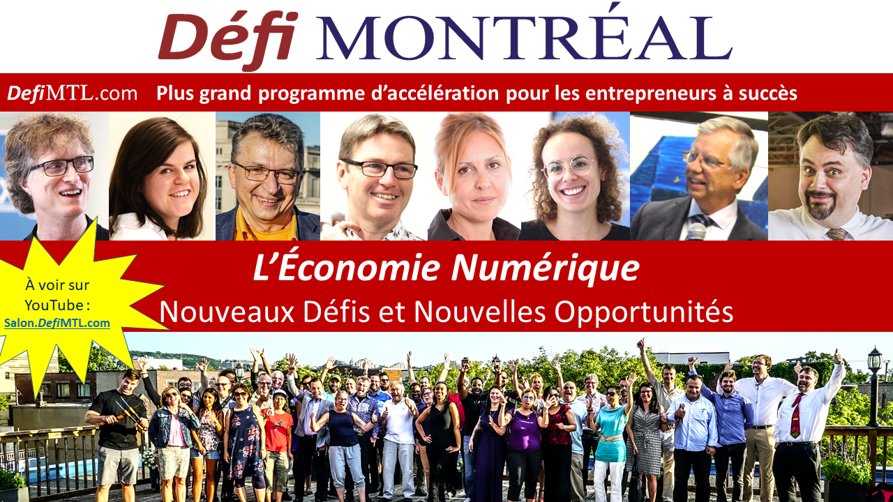 Conférence Défi Montréal - Défis et Opportunités de l'Économie Numérique